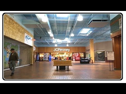 Exploring Carnation City Mall Alliance Ohio - Plaza From The Past - Walkthrough part 2