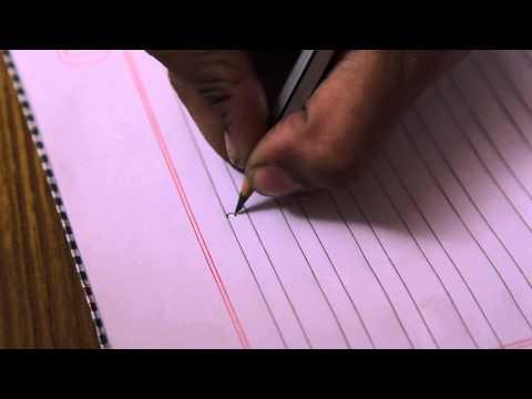 School Of Wonderkids 2nd Hand Writing Hindi