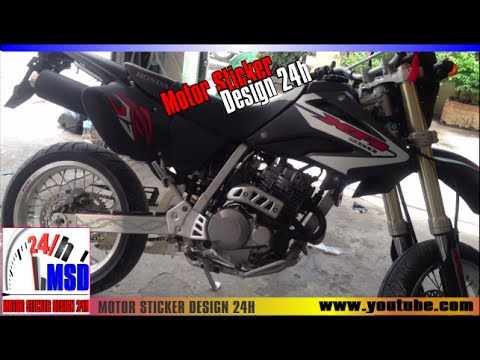Honda xr250 new sticker stamp xr250 modified youtube