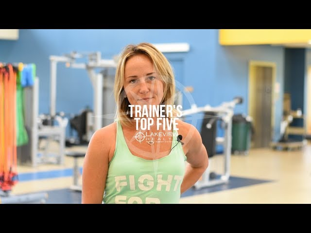 Trainer's Top Five - Tiffany Greenfield Shares Her Favorite Exercises