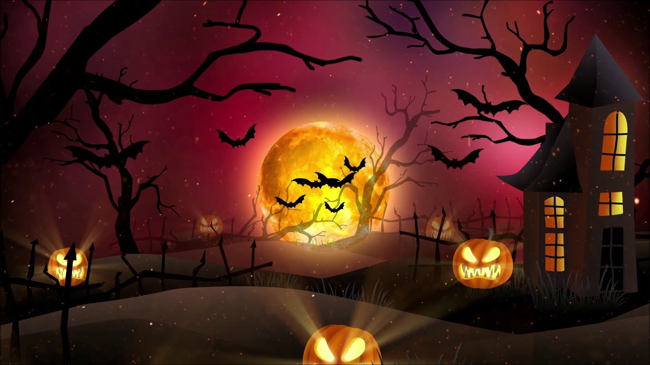 Scary Background Music for Videos - Halloween Night ...
