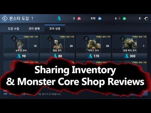 Lineage 2 Revolution Warehouse & Monster Core Shop Reviews