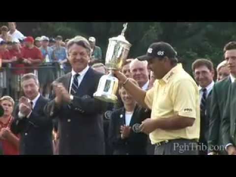 Amazing moment as Angel Cabrera wins the U.S. Open
