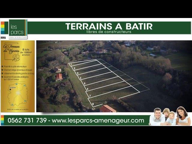Les terrasses de Vignerie - Les Parcs <br/>1 vol et 1 montage : 800€ ht <br/>