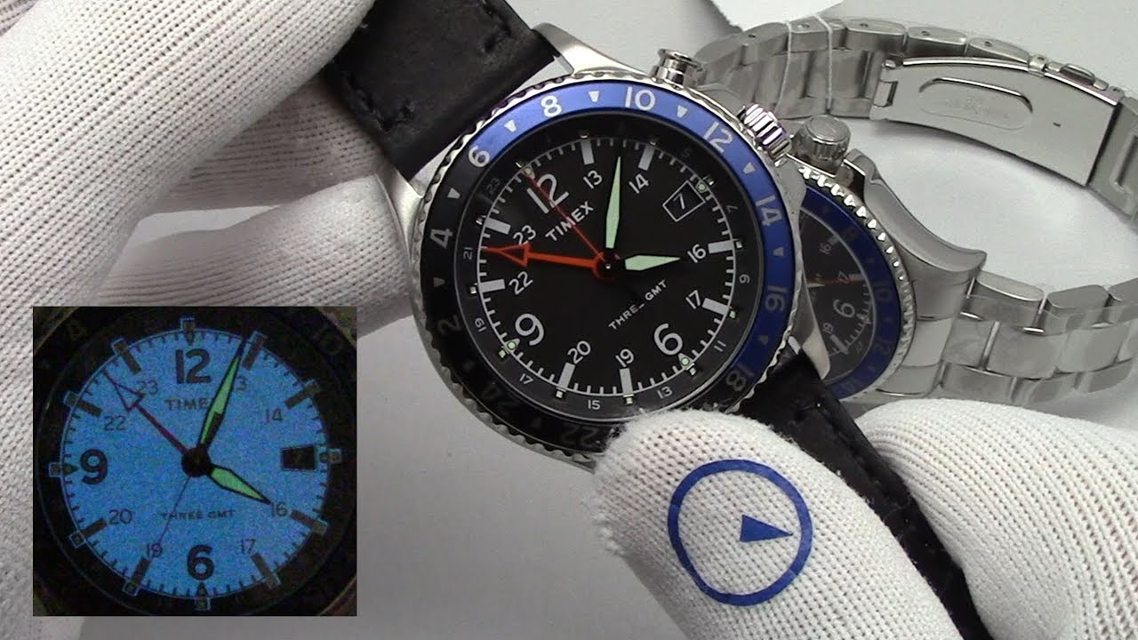 bf12b5e9e659 Allied Three GMT - A Great Deal On A Mens Watch Under  200 From Timex