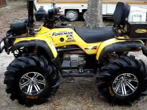 Honda Foreman 500 >> Updated 02 Honda Foreman - Soggy Bottom Boyz of MS - YouTube