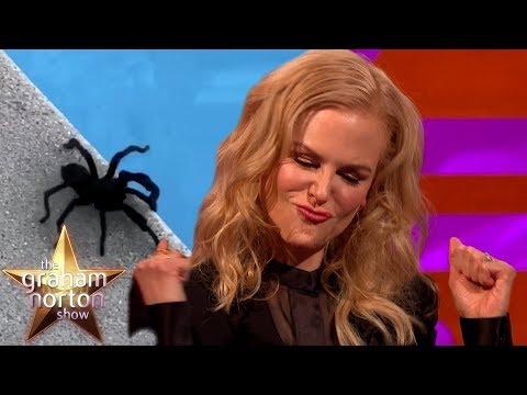 Nicole Kidman Caught A GIGANTIC Tarantula! | The Graham Norton Show
