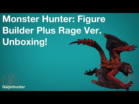 MH Figure Builder Rage Ver. UNBOXING