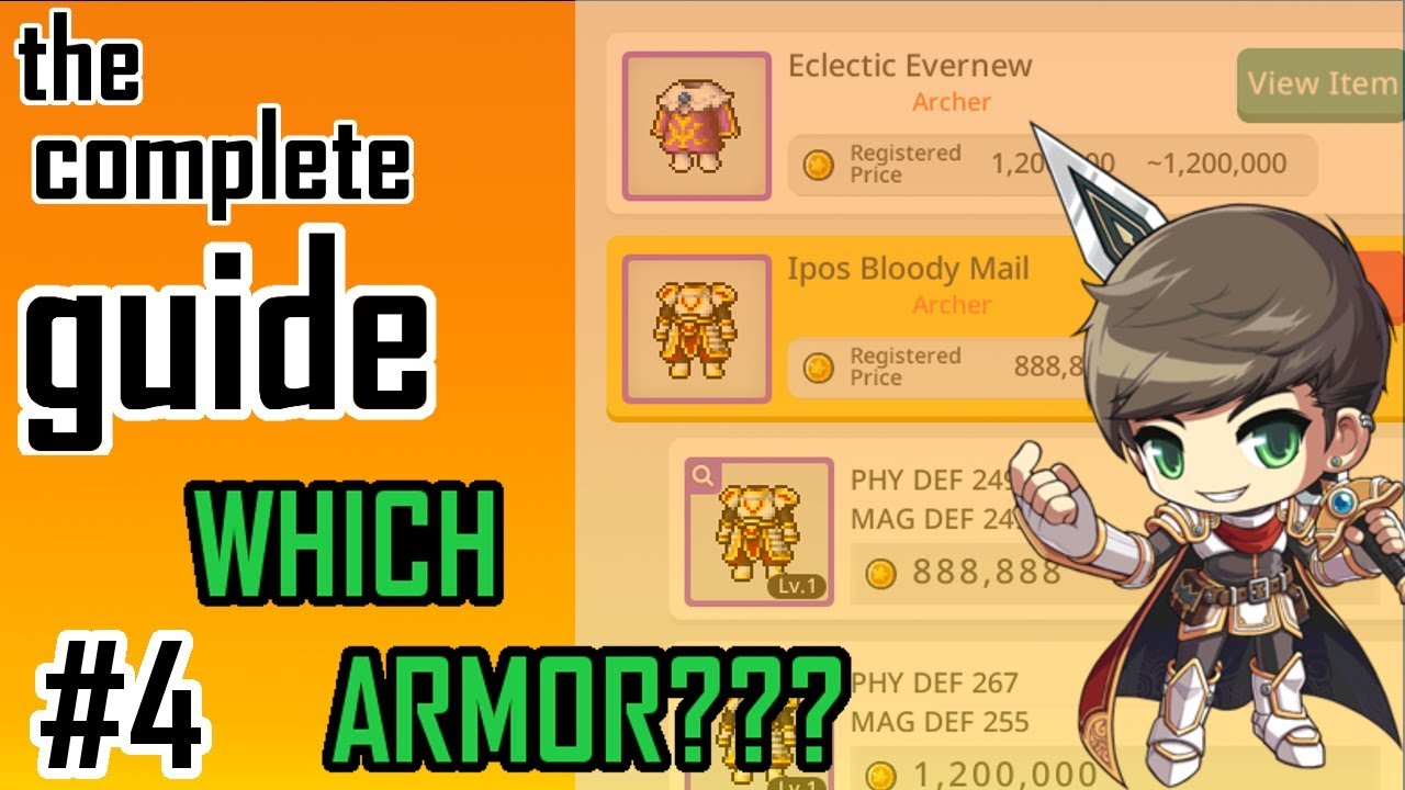How To Level Up Your Gear To Legendary In MapleStory M