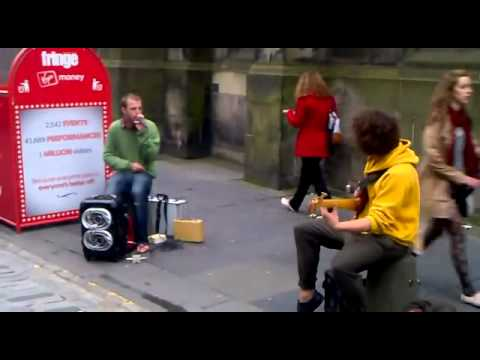 Download Youtube: Beatbox and Bass jam in the street