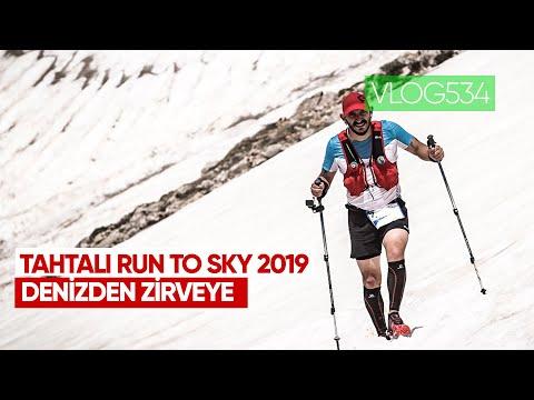 Tahtalı Zirveye 2600mt Koşarak Tırmanmak. Tahtalı Run To Sky 2019 | Asla Durma Vlog534