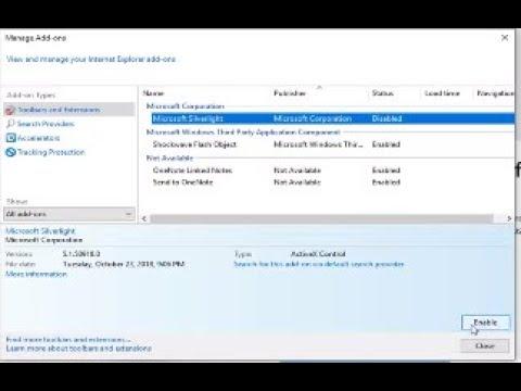 Microsoft Silverlight Fix Windows 10 [Tutorial]