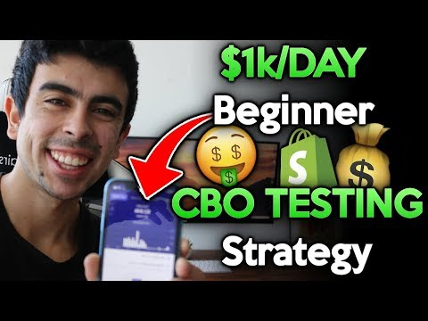 (Step by Step) New 2019 CBO Testing Strategy for Facebook Ads [Shopify Dropshipping] thumbnail