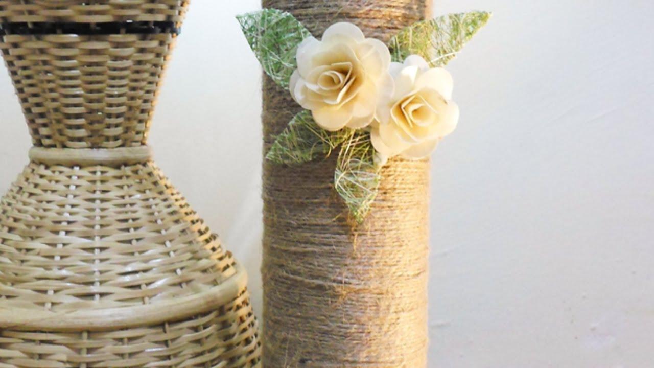 Crea dei vasi rustici con i barattoli pringles fai da te casa guidecentral youtube - Vasi decorati fai da te ...
