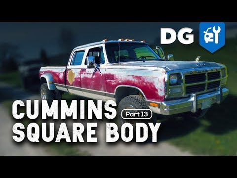 IT'S BACK! '85 Dodge Cummins 12v 4WD Conversion (Part 13)