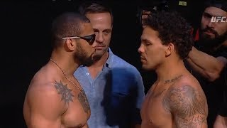 Fight Night Sao Paulo: Santos vs Anders - Weigh-in Faceoffs