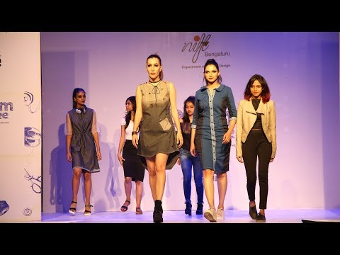 Nift Fashion Show 2017 Lee Denims Bodyoptix Bangalore Youtube