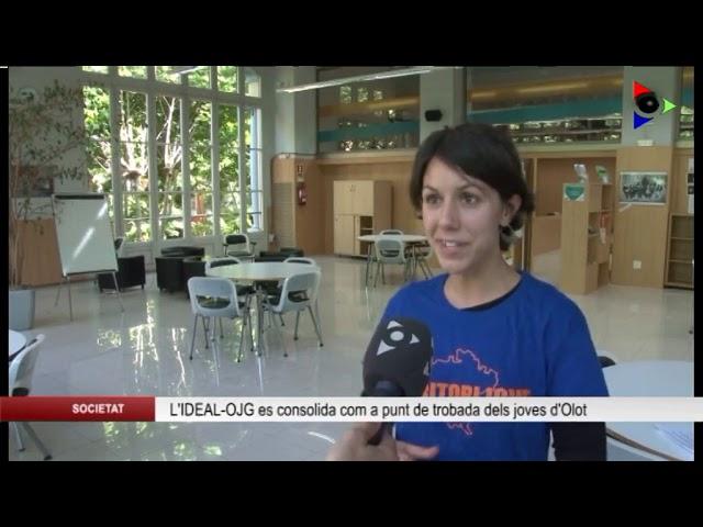Olot, ciutat educadora: L'IDEAL - OFICINA JOVE DE LA GARROTXA (OJG)