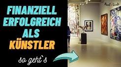 Erfolgreich selbständig als Künstler - ART Business Class - Geld verdienen als Künstler