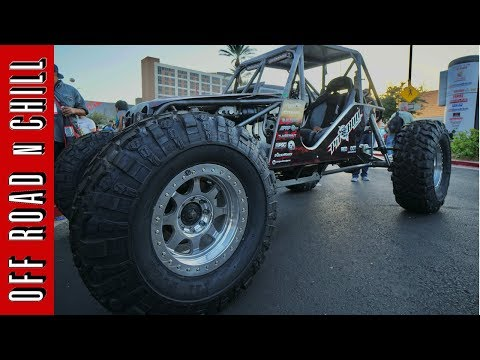 Crazy V8 Rock Crawler with 42 inch Pitbull Tires