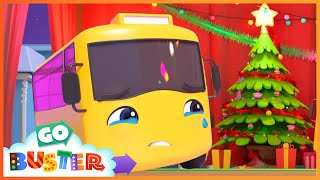 Face Your Fears Buster! - Christmas Talent Show | Go Buster | Baby Cartoons | Kids Videos