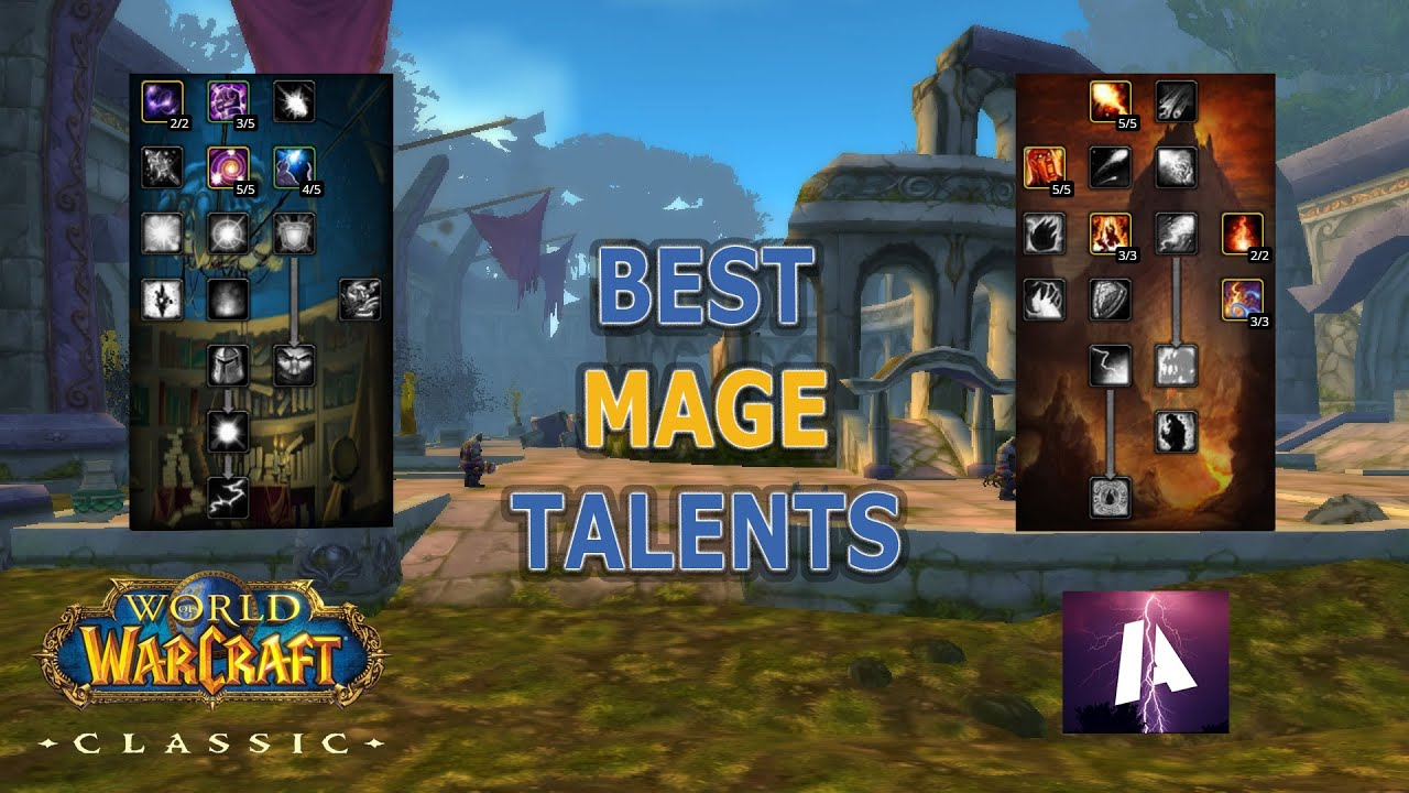 Wow Classic Best Mage Talents For Gold Farming Power Leveling Youtube