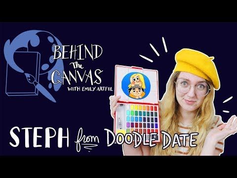 Behind The Canvas Episode # 4 feat. Steph From Doodle Date Mp3