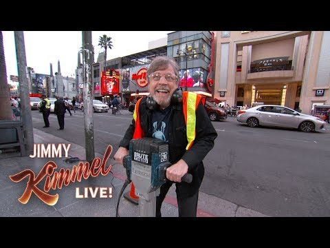 Mark Hamill & Jimmy Kimmel Get into a Star War