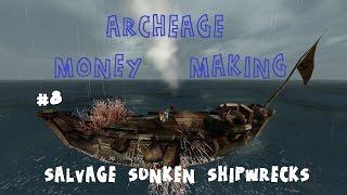 ArcheAge Выгодная перевозка паков!Фармим деньги #1