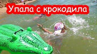 VLOG Алиса упала в воду с головой