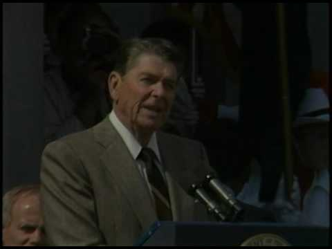 President Reagan's Remarks to the Citizens of Concord New Hampshire on September 18, 1985