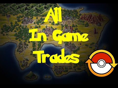 All In Game Trades (Pokemon Gold/Silver)