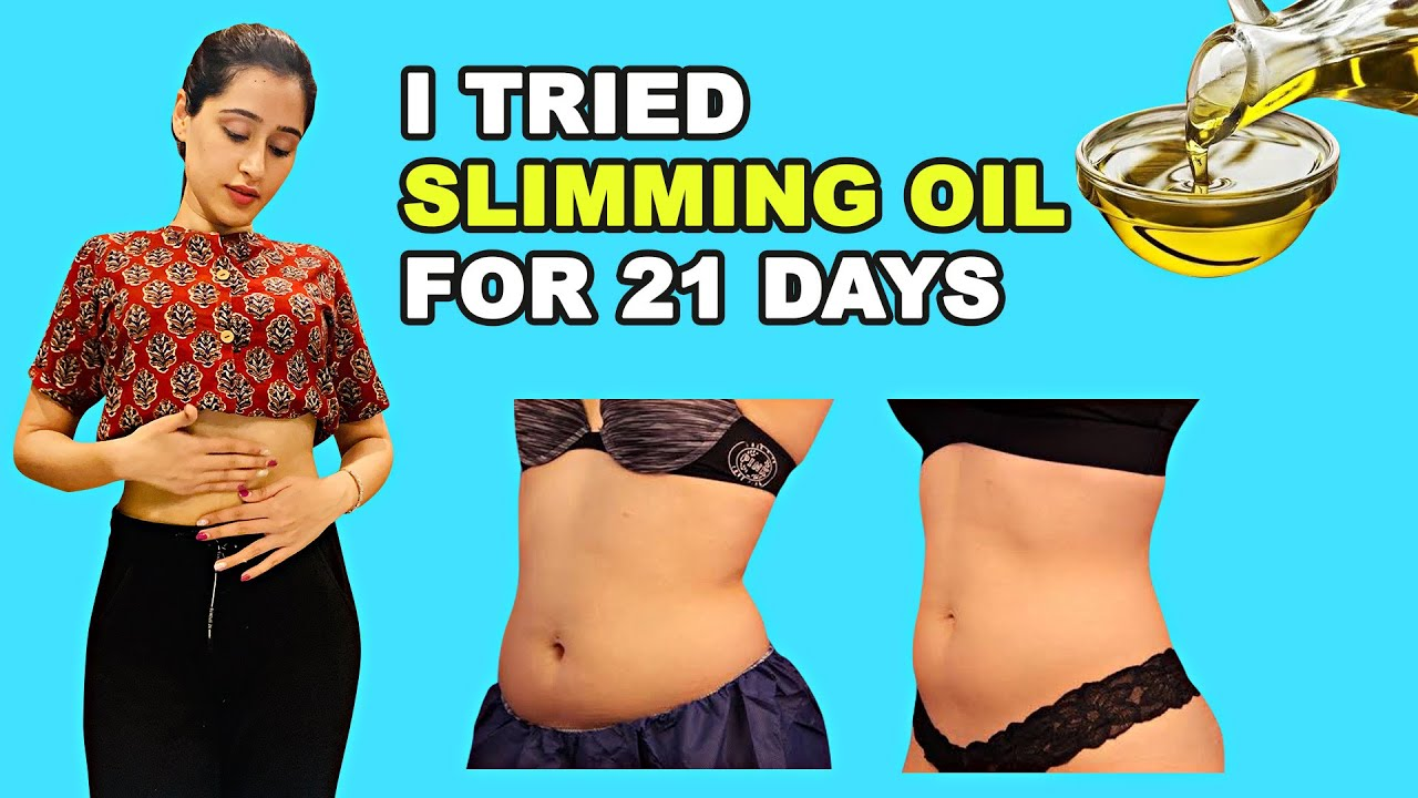 See My Results After Trying Fat Loss Slimming Oil | Glam Girl