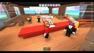 Roblox Episode 1 work at pizza place[No Commentary]