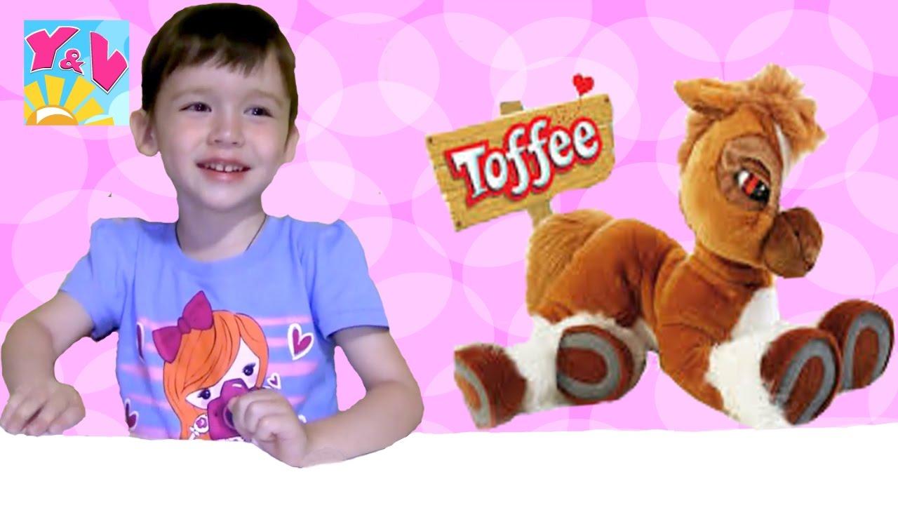 Видео лошадки игрушки для детей