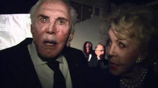 KIRK DOUGLAS & ANNE BUYDENS: SB International Film Festival Kirk Douglas Award