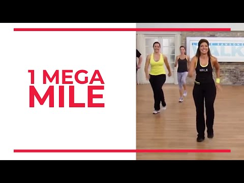 Monday | 1 Mega Mile | At Home Workouts
