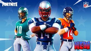HOW TO GET the NFL SKINS in FORTNITE! *NEW* FOOTBALL SKINS IN FORTNITE! Fortnite collab with NFL