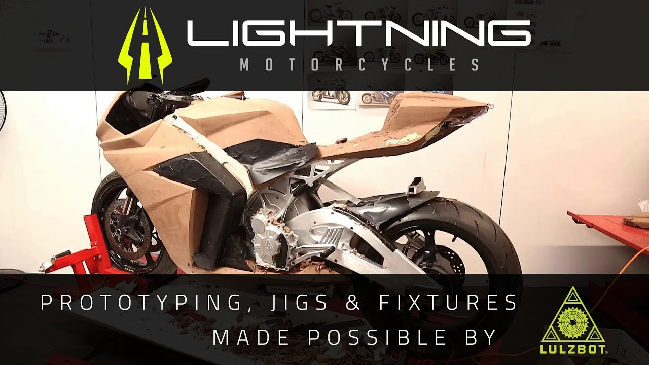 Rapid Prototyping: 3D Printing for Electric Motorcycles As Fast As Lightning