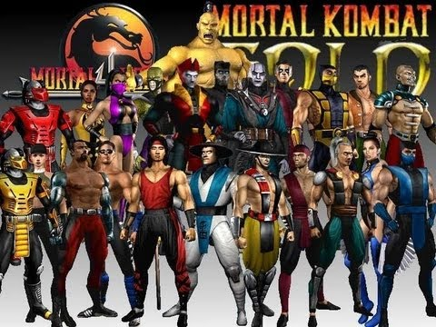 mortal kombat 4 gold
