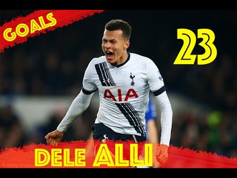 Dele Alli - Golden Boy - All 23 Goals Tottenham Hotspur - HD
