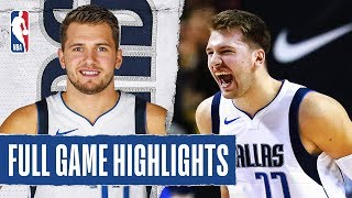 MAVERICKS at PISTONS | FULL GAME HIGHLIGHTS | December 12, 2019