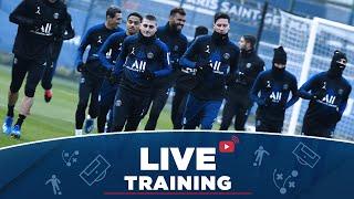 🎥 Les 15 premières minutes d'entraînement avant Lille OSC 🆚 Paris Saint-Germain