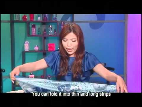 6 different ways to do the scarf styles 6種簡易的圍巾打法