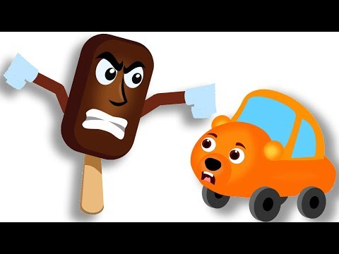 Thumbnail: Gummy Bear Cars Vs Monster Ice Candy Finger Family Rhyme For Kids | Eat Big Ice Candy