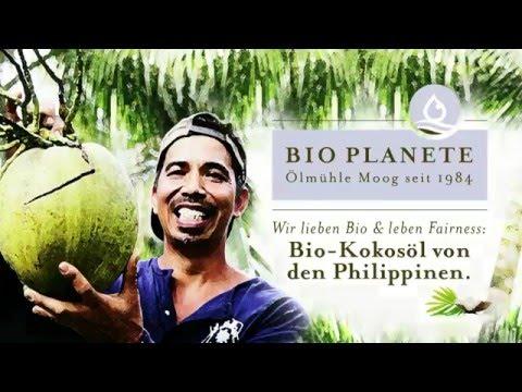 BIO PLANÈTE - Ölmühle Moog: Bio-Kokosöl von den Philippinen_dt. Untertitel