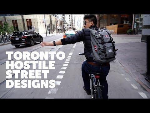 Cars Vs Bikes : Toronto's Hostile Street Design
