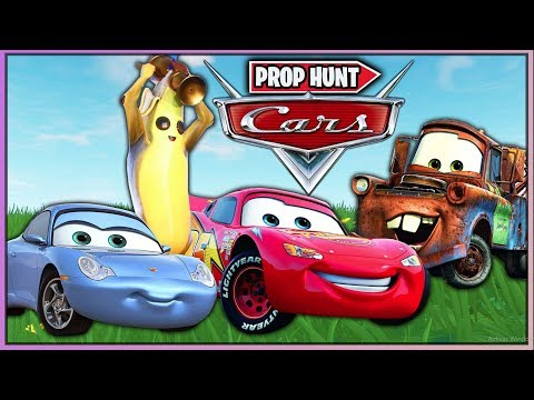 CARS EN FORTNITE *PROP HUNT* (FORTNITE MINIJUEGOS)