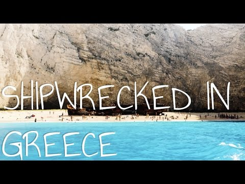 SHIPWRECKED IN GREECE || Travel Vibes: Greece