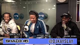 Vado and Slime Committee interview live at Shade45